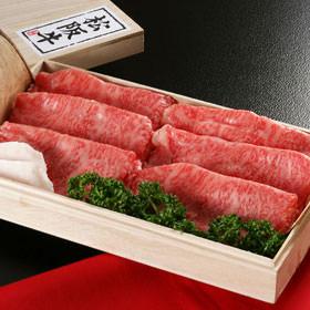 松阪牛サーロインすき焼き用 ギフト 400g