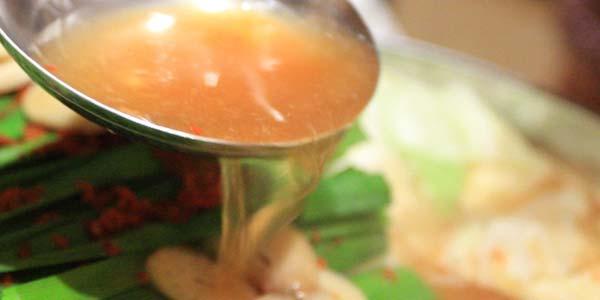 もつ鍋スープ