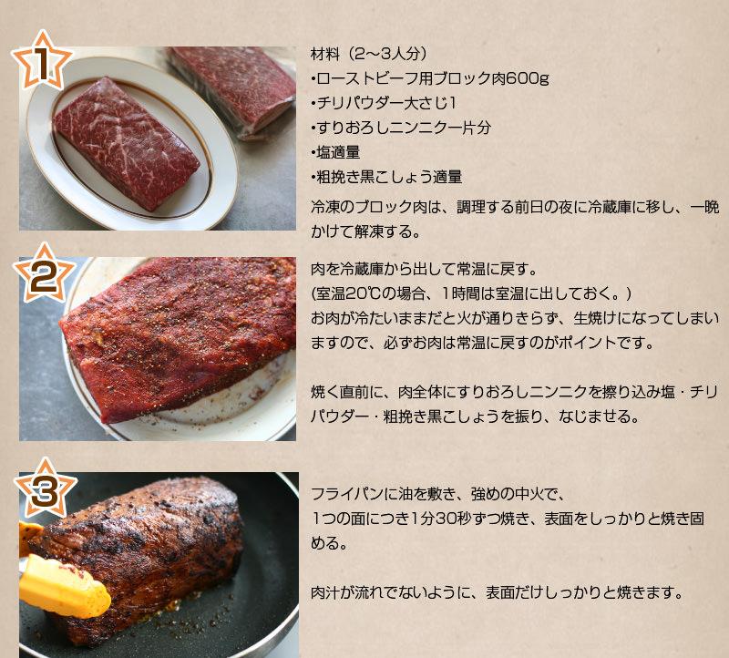 ローストビーフ作り方1