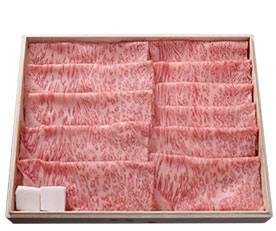 お肉は松阪牛A5ランク
