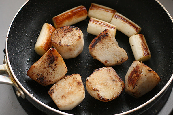 濃厚チーズのハンバーググラタン