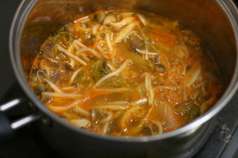 温かい冷麺?! 温麺