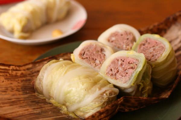 挽肉ロール白菜