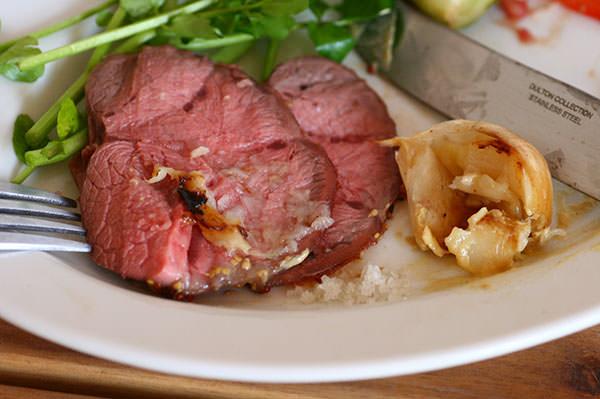 牛すね肉と彩り野菜のロースト