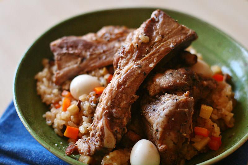 スペアリブと季節野菜のオーブン焼き