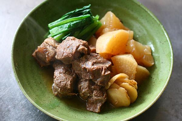 牛すね肉の角煮