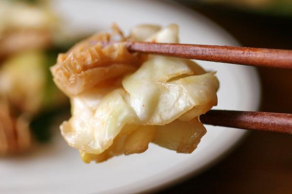 トリッパのピリ辛味噌炒め