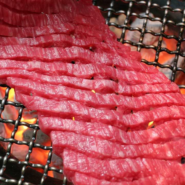 松阪牛モモ肉ダイヤモンドカット100g×10枚セット