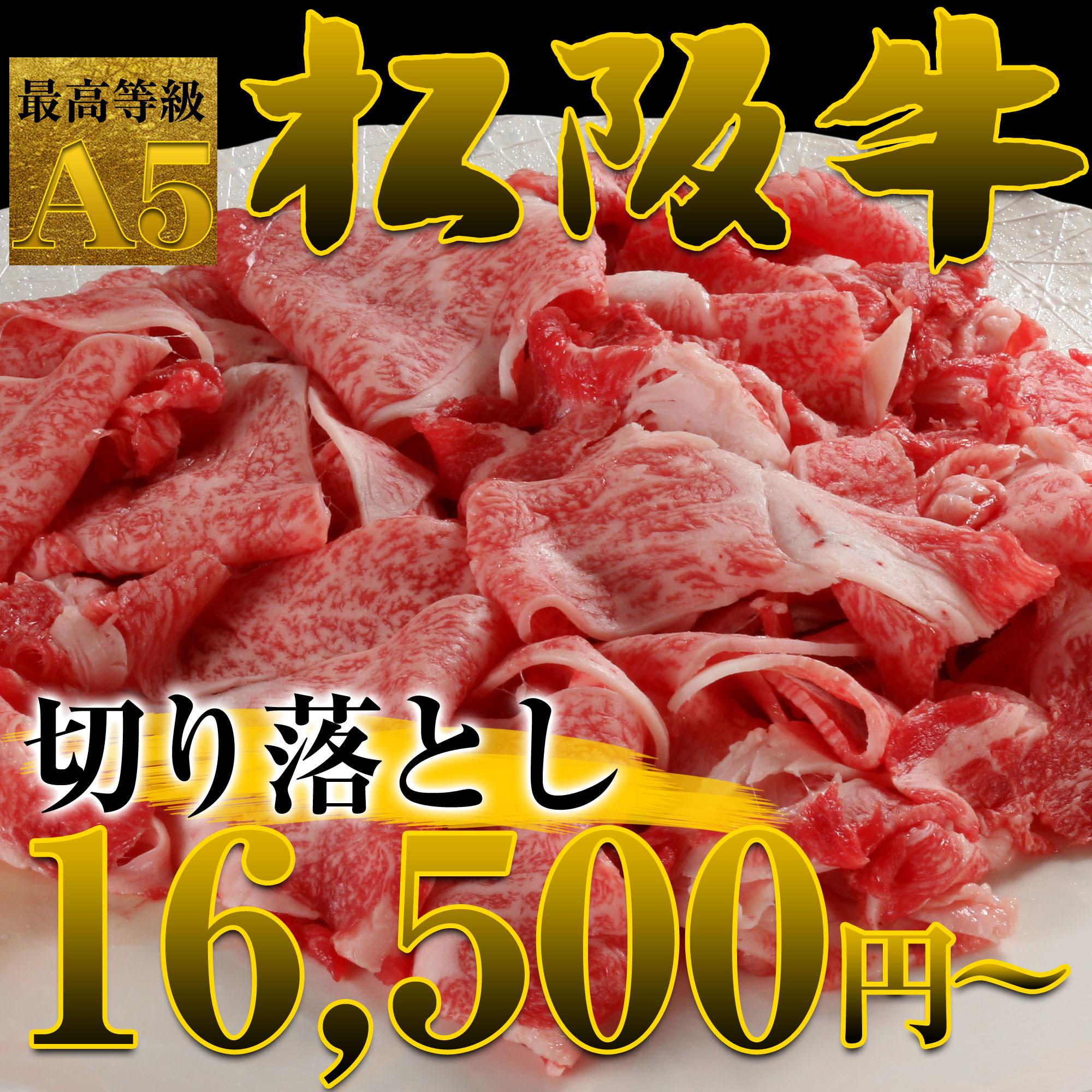 松阪牛切り落とし 750g(6〜9人前)