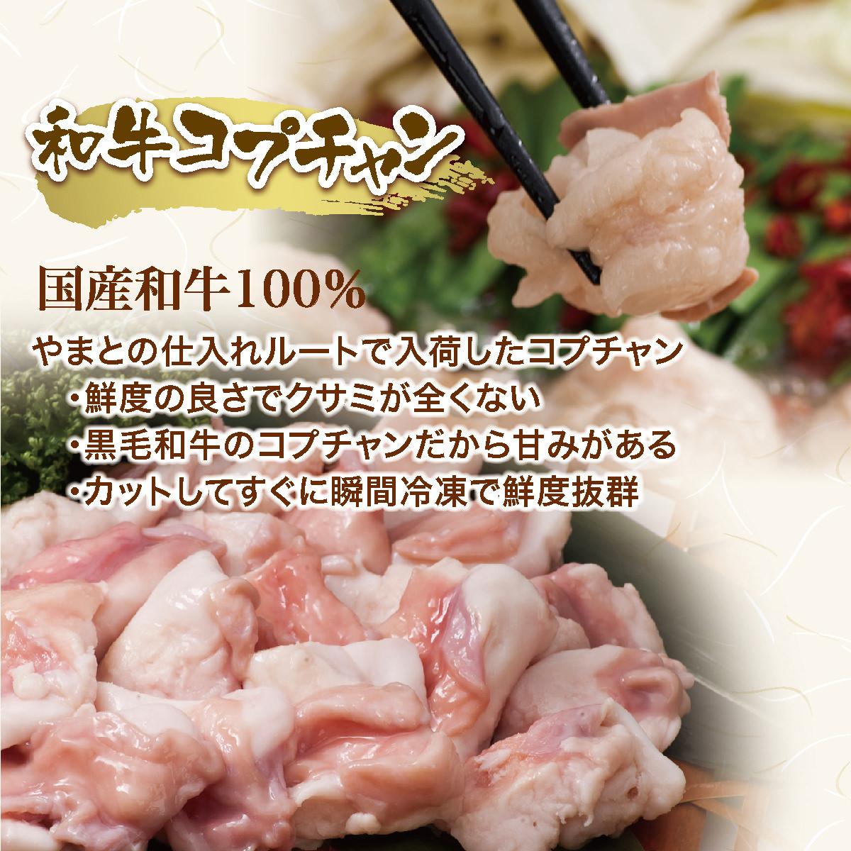和牛もつ鍋セットM食べ比べセット