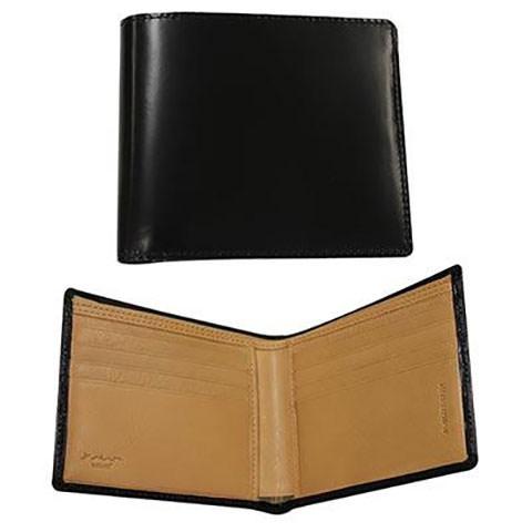 松阪牛レザー二つ折り財布