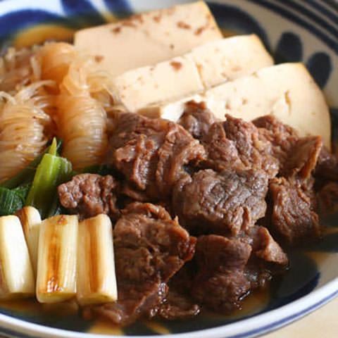 牛すじで美味しい肉豆腐の作り方