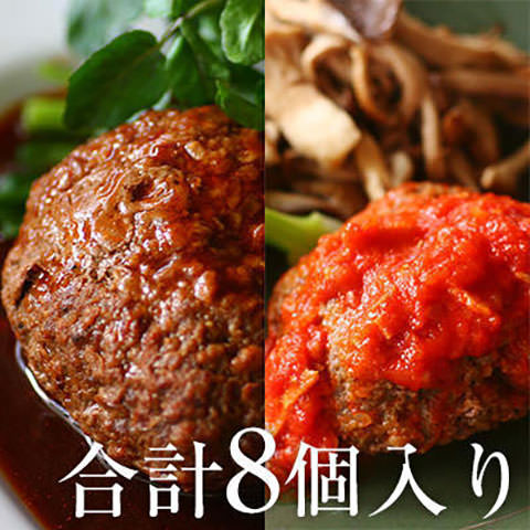 勝光治のおすすめ 煮込みハンバーグ2味セット