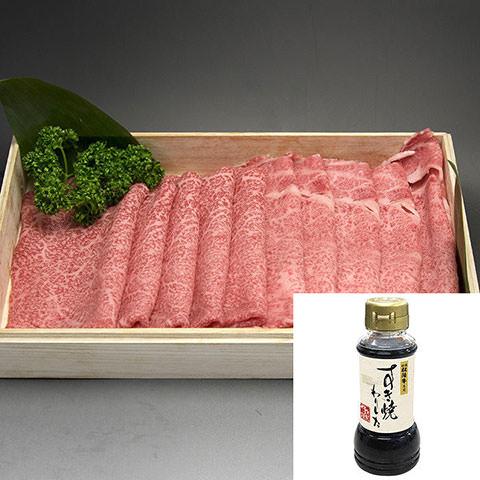 松阪牛リブロース×モモすき焼き用(わりした付き)300g