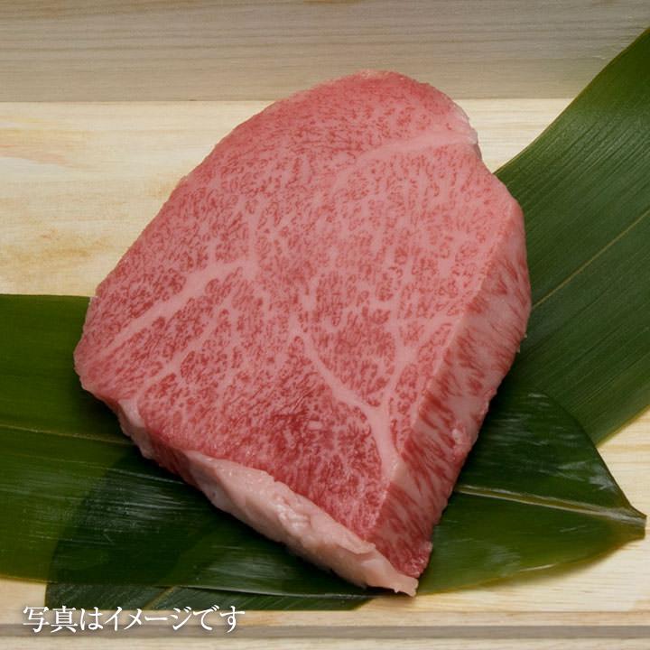 松阪牛トモサンステーキ100g